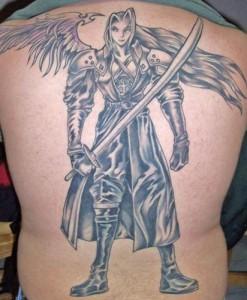 Sephiroth Tattoo