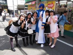 Japanese girls love all white men.