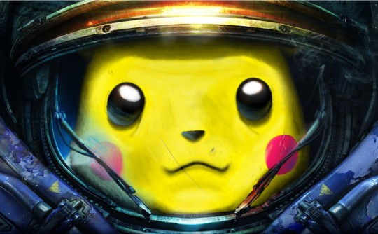 I Choose You, Terran Marine-ichu!
